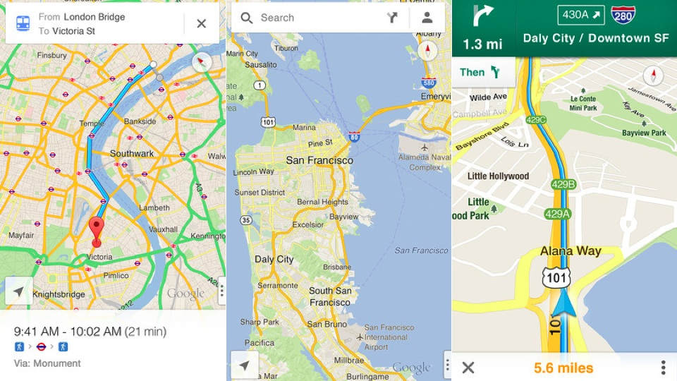 ไม่หลงป่าแล้ว! Google Maps บน iOS เปิดให้ดาวน์โหลดแล้ว