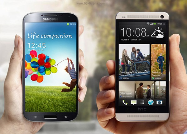 S4 vs HTC One