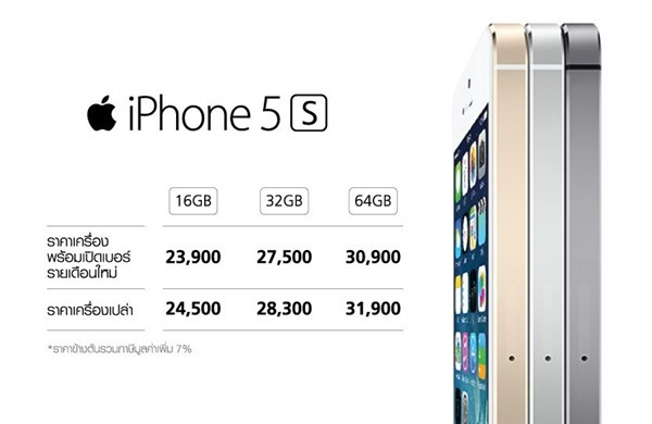 iphone 5s true