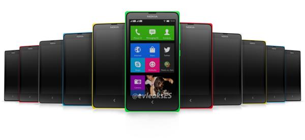 Nokia X Nokia Normandy