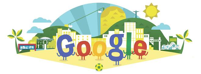 Google Doodle World Cup 2014