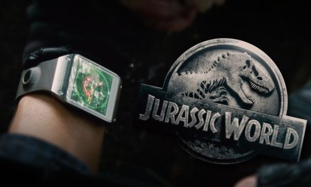 Galaxy Gear in Jurassic World