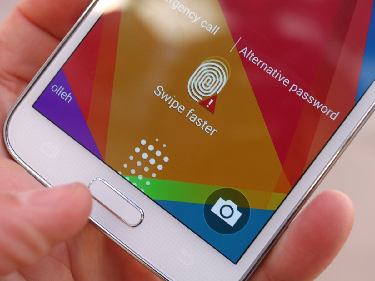 Samsung Galaxy S Fingerprint