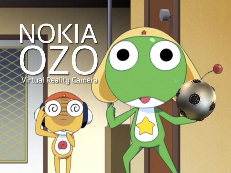 ภาพสุดท้าย... ครั้งแรกที่เห็นหน้าตาของ Ozo ผมนี่นึกถึง Keroro Ball จากการ์ตูนเรื่อง Keroro Gunzou ขึ้นมาเลย