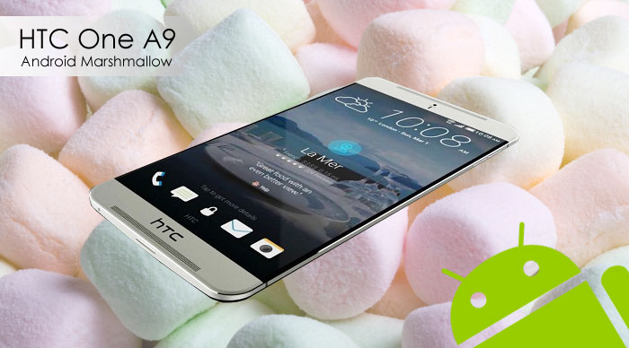 htc one a9 land with android marshmallow