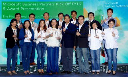 Microsoft Partner Awards 2015