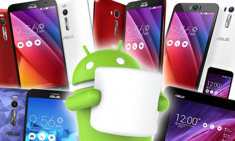 Asus Zenfone Android Marshmallow