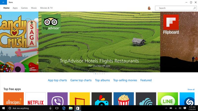 Windows 10 Windows-Store