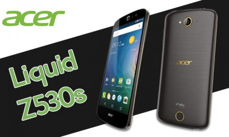 Acer Liquid Z530s - Open