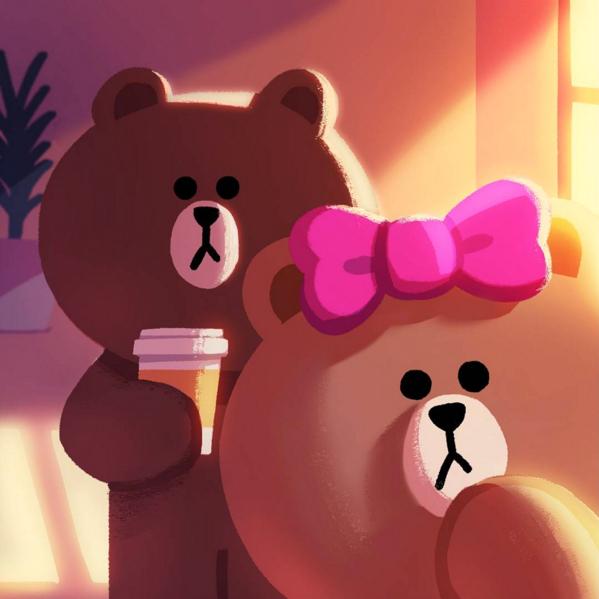 Choco & Brown LINE Friends