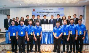 พิธีลงนามความร่วมมือโครงการ Samsung&Tech Institute (2)