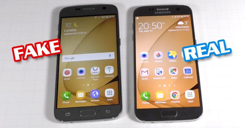 Galaxy S7 ปลอม
