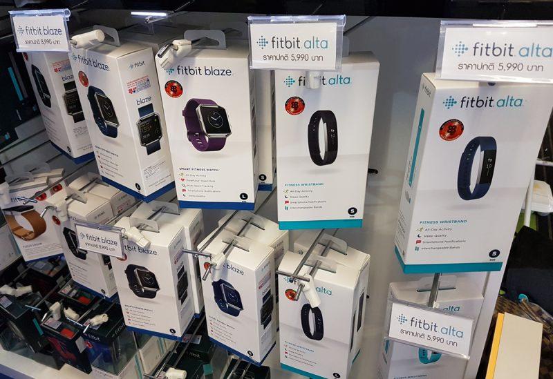 Fitbit ในงานมีของรุ่นใหม่ล่าสุด Blaze และ Alta วางจำหน่ายด้วย สำหรับรุ่น Surge และ Charge HR ลด 10% ด้วยนะ