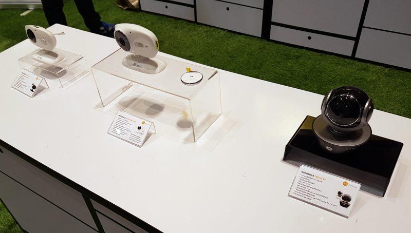 อุปกรณ์กล้อง IP Camera จาก Motorola นำเข้าโดย RTB Technology