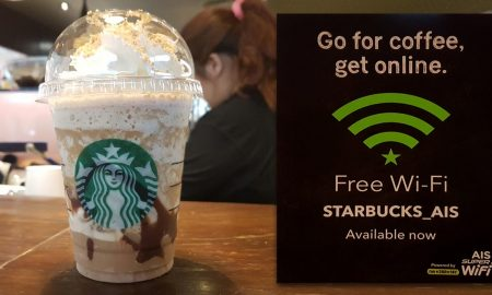 Starbucks Free WiFi