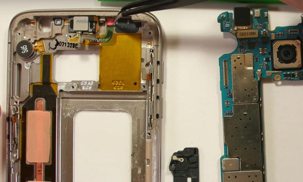 เช็คความชื้น Samsung Galaxy S7