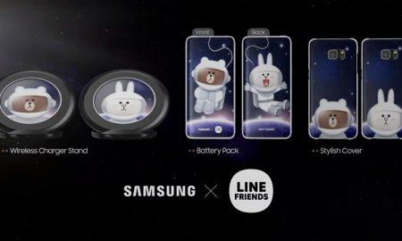 Samsung X LINE friends