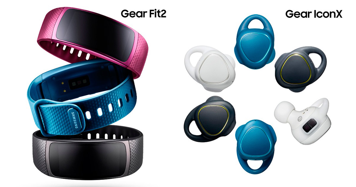 Samsung Gear Fit 2 - Gear IconX