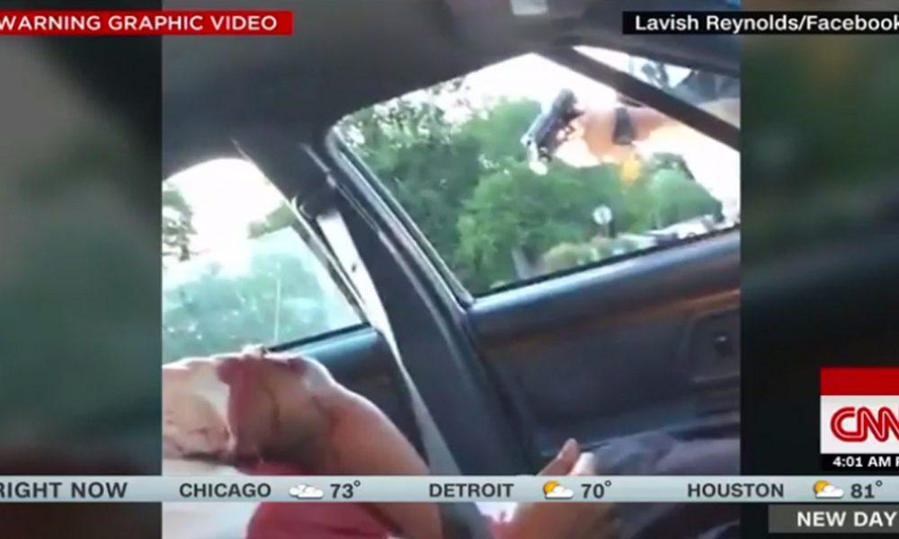 Facebook live ถ่ายทอดสด Philando-Castile-shooting