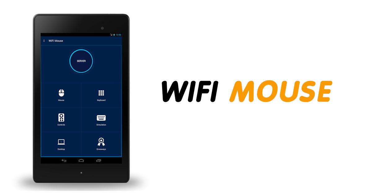 ควบคุมการใช้งานเมาส์บนคอมพิวเตอร์ผ่านแอนดรอยด์ด้วย WiFi mouse