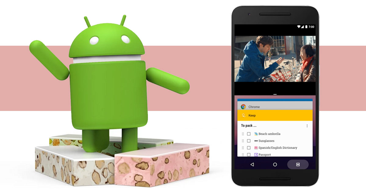 Android 7.0 Nougat For nexus