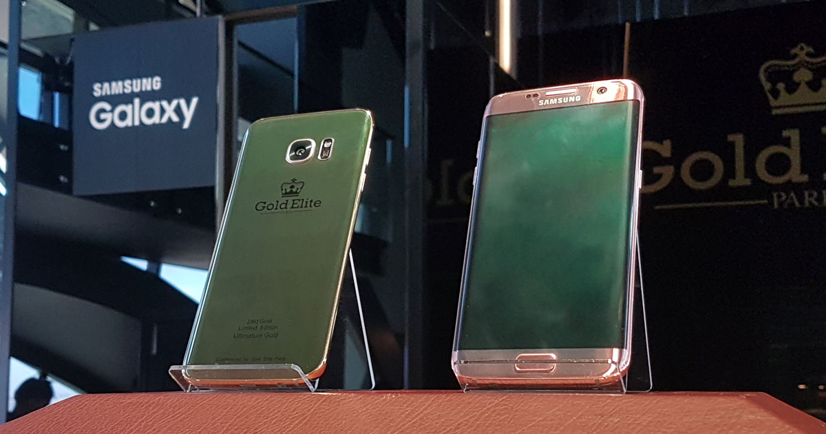 Gold Elite Paris Samsung Galaxy S7 edge