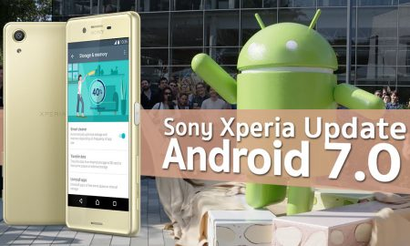 Sony Xperia Upgrade Android 7.0 Nougat