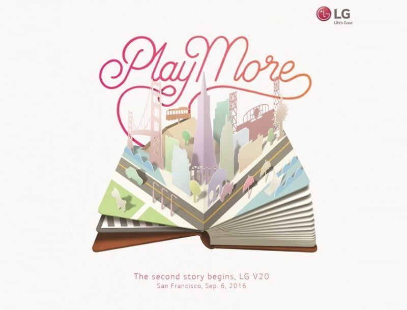 LG V20 launch
