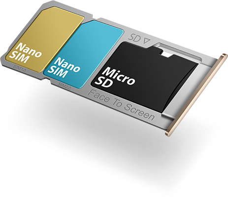 OPPO F1s simcard