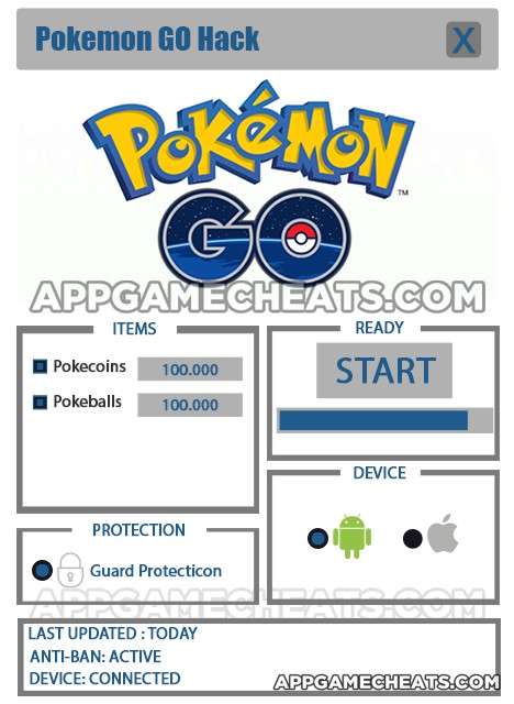 Скачать hack pokemon go.