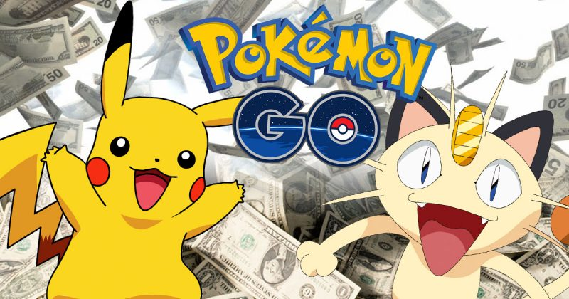 pokemon go-rich