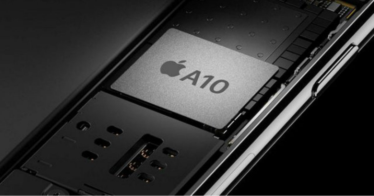 Apple A10 Qualcomm Intel Modem