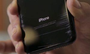 iPhone 7 Jet Black เป็นรอย