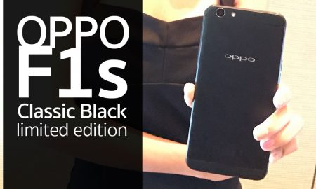 OPPO F1s Classic Black limited edition