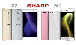 SHARP M1 และ SHARP Z2