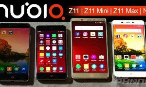 Nubia Z11, Z11 Mini, Z11 Max และ N1
