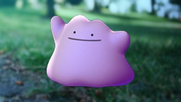 Pokemon Go Ditto Metamon