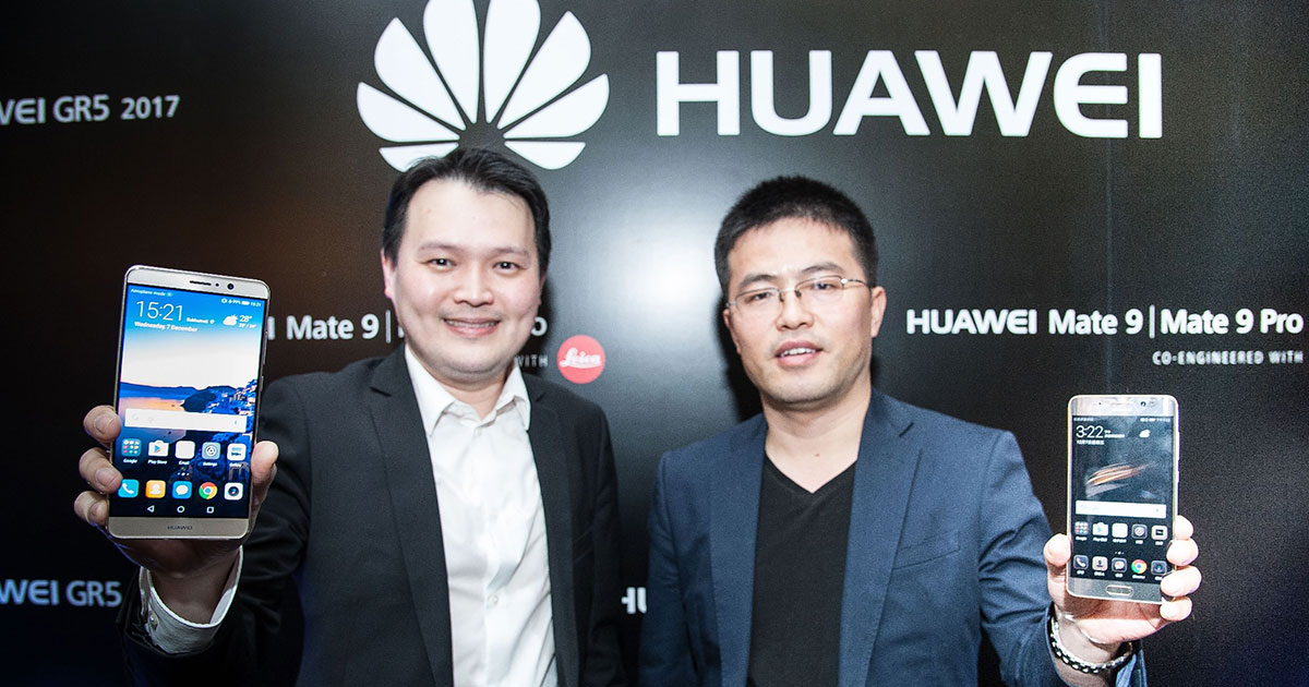 Huawei Mate 9 series และ GR5 2017