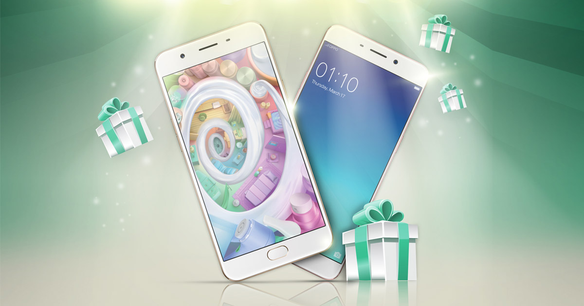OPPO NEW YEAR NEW PHONE