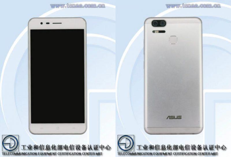 Asus Zenfone 3 Zoom Front Back