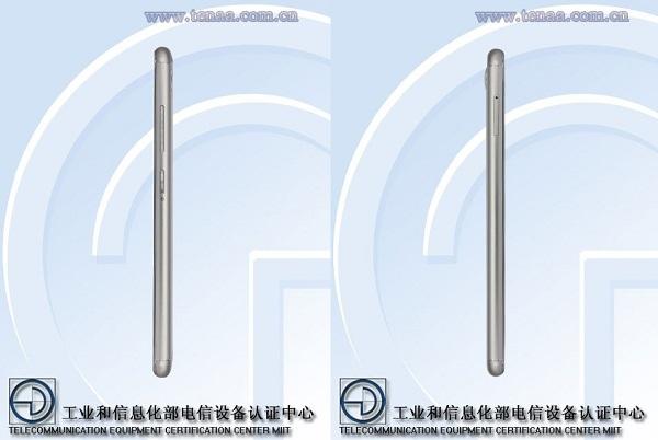 Asus Zenfone 3 Zoom Side