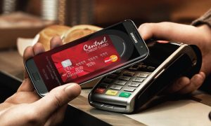 Central Credit card samsungpay