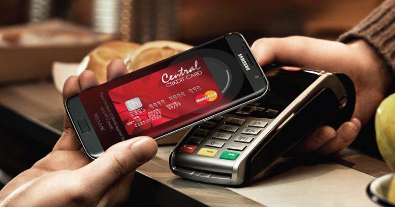 Central Credit card samsungpay