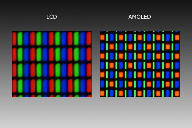 AMOLED LCD Joled OLED