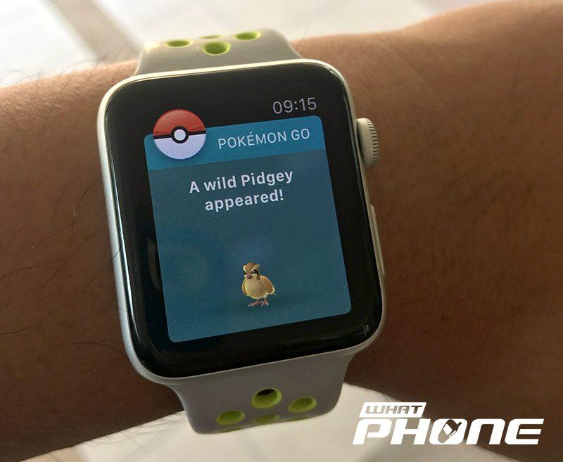 Pokemon GO Apple Watch