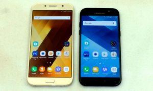 Samsung Galaxy A7 (2017) และ A5 (2017)