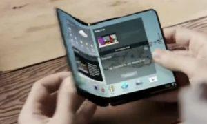 samsung foldable smartphone จอพับได้