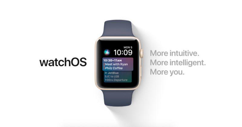 watchOS 4 Beta 5