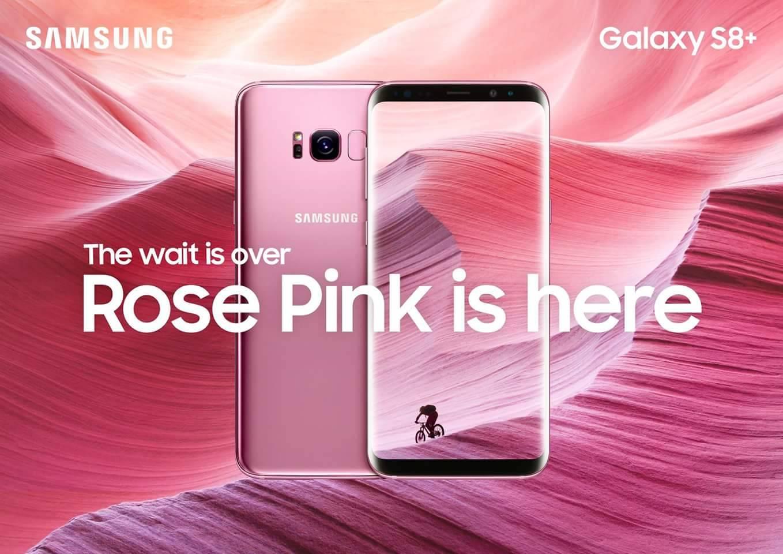 Samsung Galaxy S8+ Rose Pink