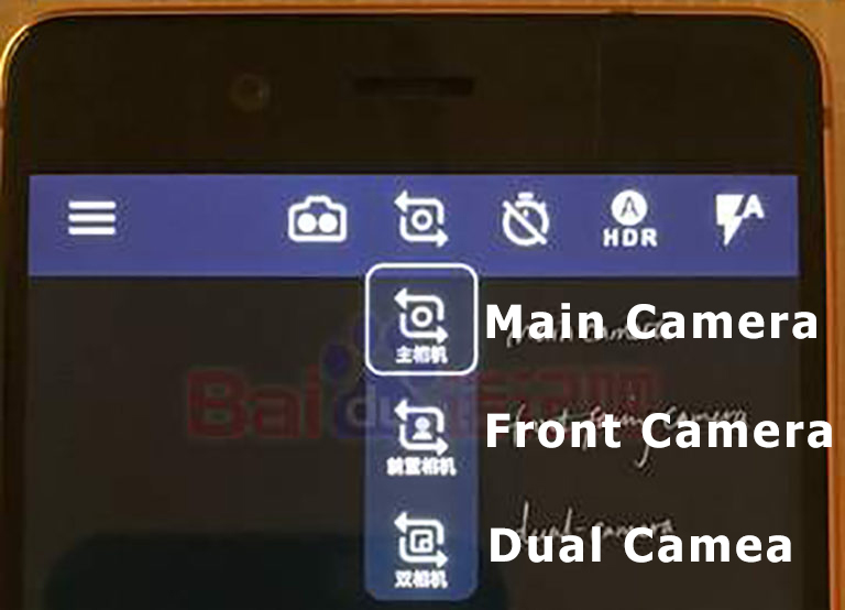 Nokia 8 Camera Mode